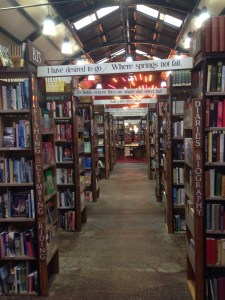 Barter Books in Alnwick