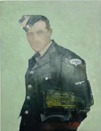 Harry, Rotorua July 1943. Oil on board by Emma Louise Pratt.
