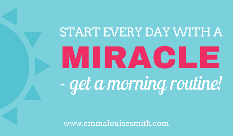 Start every day with a miracle morning