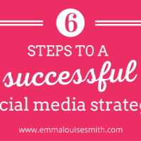 6 steps to a successful social media strategy