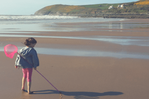 A cheap and cheerful caravan park holiday in Devon #singleparentholidays
