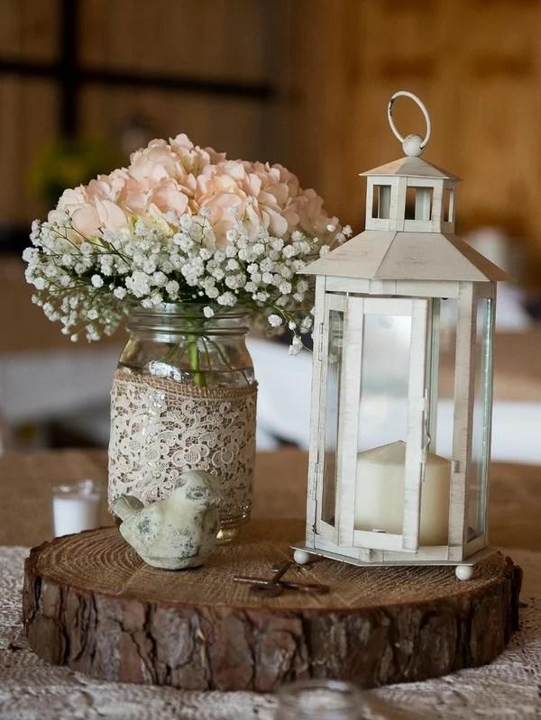 18 Gorgeous Mason Jars Wedding Centerpiece Ideas For Your