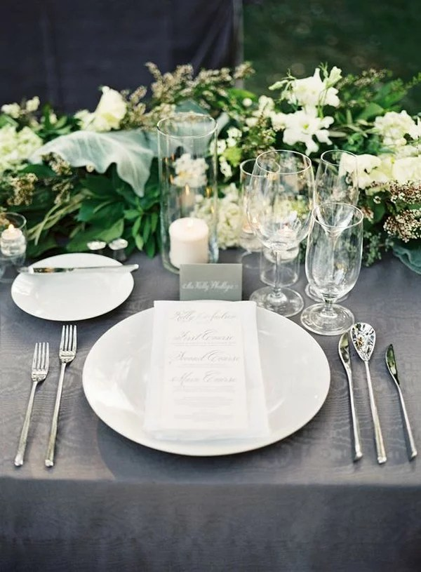 December Wedding Reception Ideas