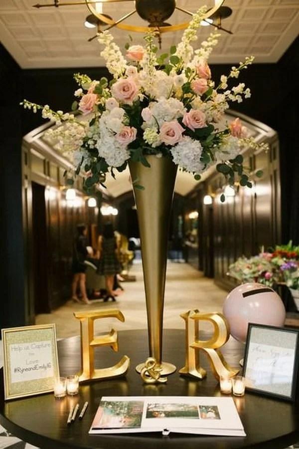 Easy Floral Centerpieces Weddings