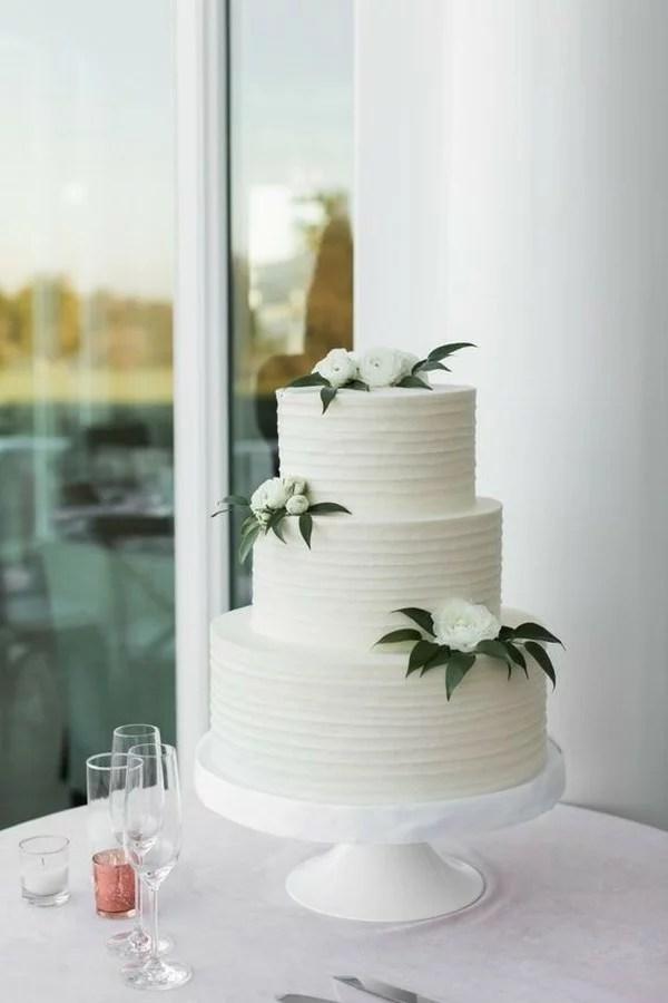 15 Amazing White And Green Elegant Wedding Cakes