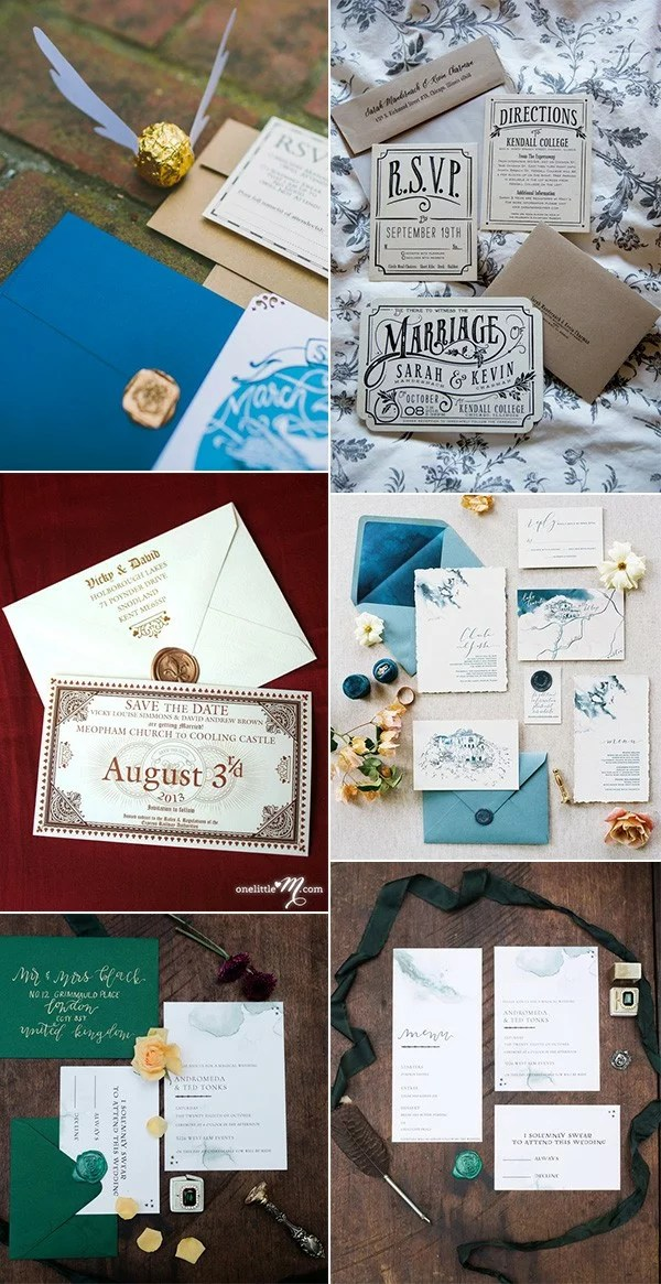 Trending 23 Magical Harry Potter Wedding Ideas To Try