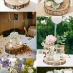 18 Chic Rustic Wedding Centerpieces With Tree Stumps Emmalovesweddings