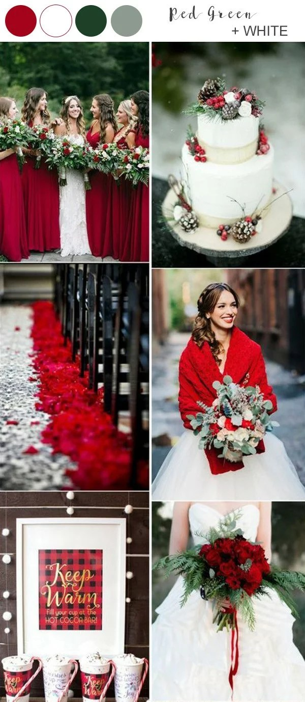 Top 10 Winter Wedding Color Ideas For 2019 Emmalovesweddings