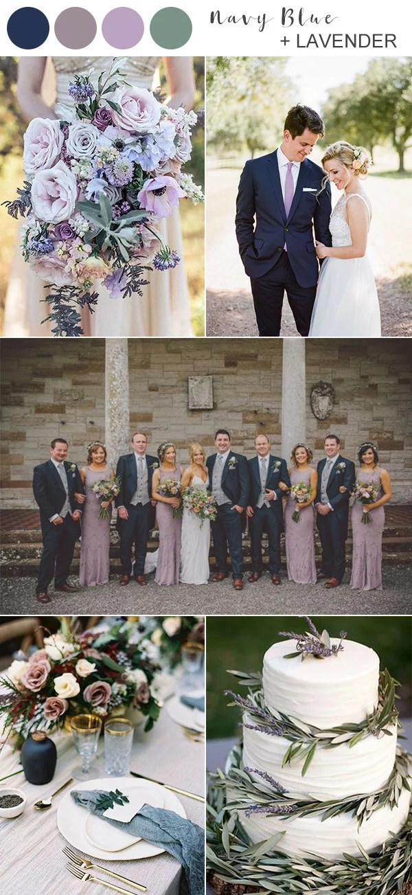 8 Best Navy Blue Wedding Color Ideas For 2020