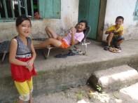 Relaxing in the heat at Cat Ba Island, Vietnam