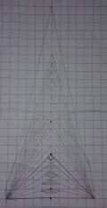 triangoli isosceli con la stessa base