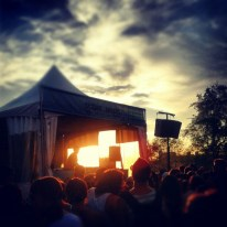 last moments of sunshine at piknic electronik