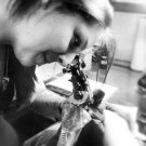 ink time with the mega talented and super amazing gabby wilson.