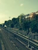 s-bahn tracks