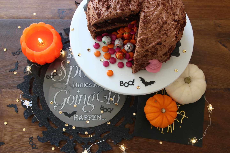 Spooky Chocolate Mud Cake Recipe