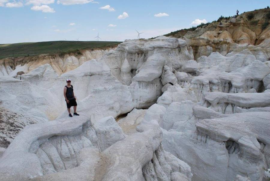 Paint Mines hike Colorado