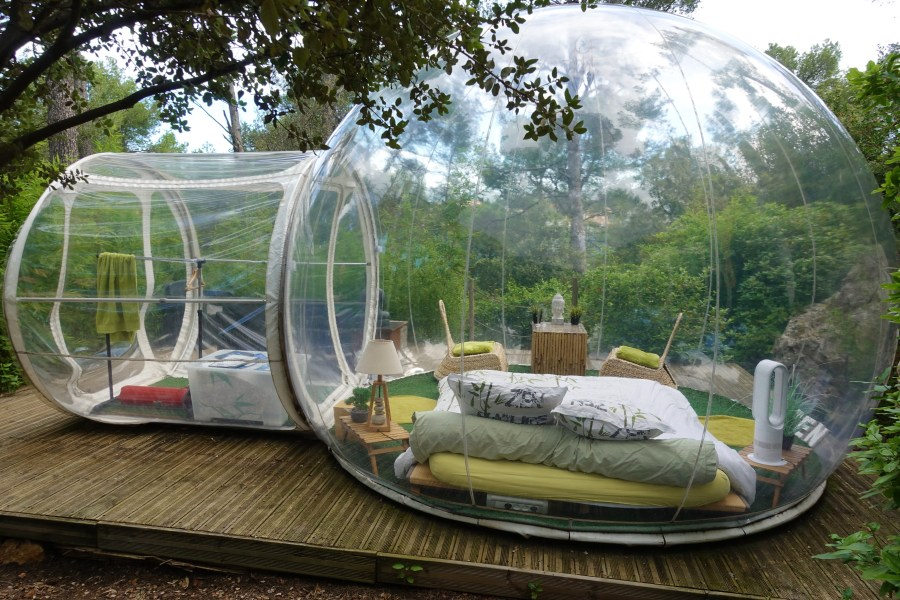 Bubble hotel Attrep Reves Allauch France