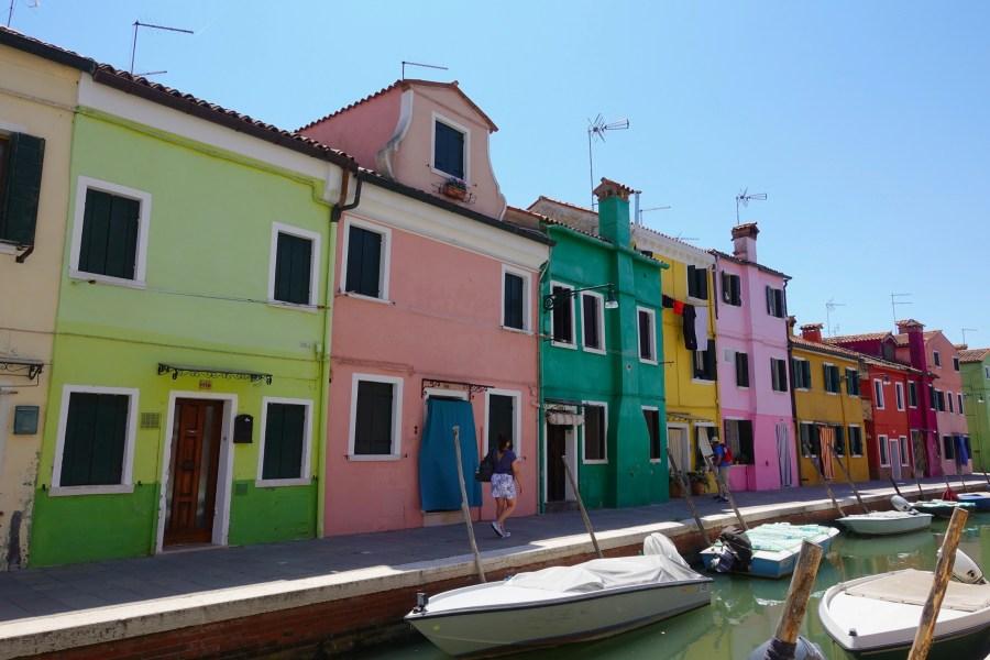 Burano near Venice Italy