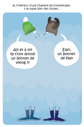 dessin humour cryotherapie