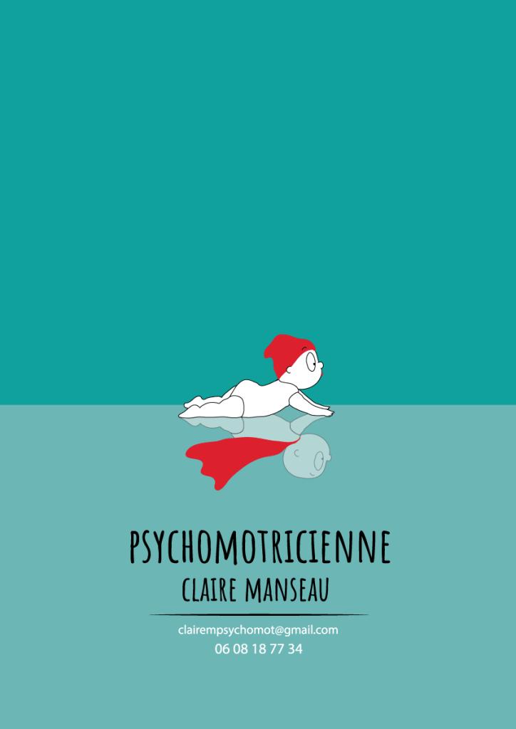 affiche psychomotiricienne humour