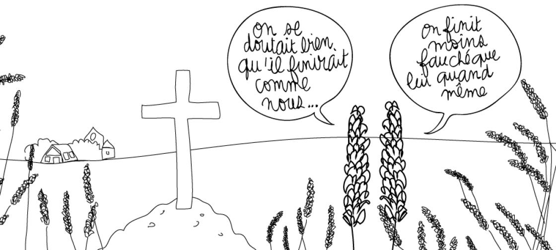 dessin humour cancer pesticides