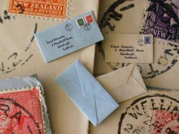 Mailed envelopes