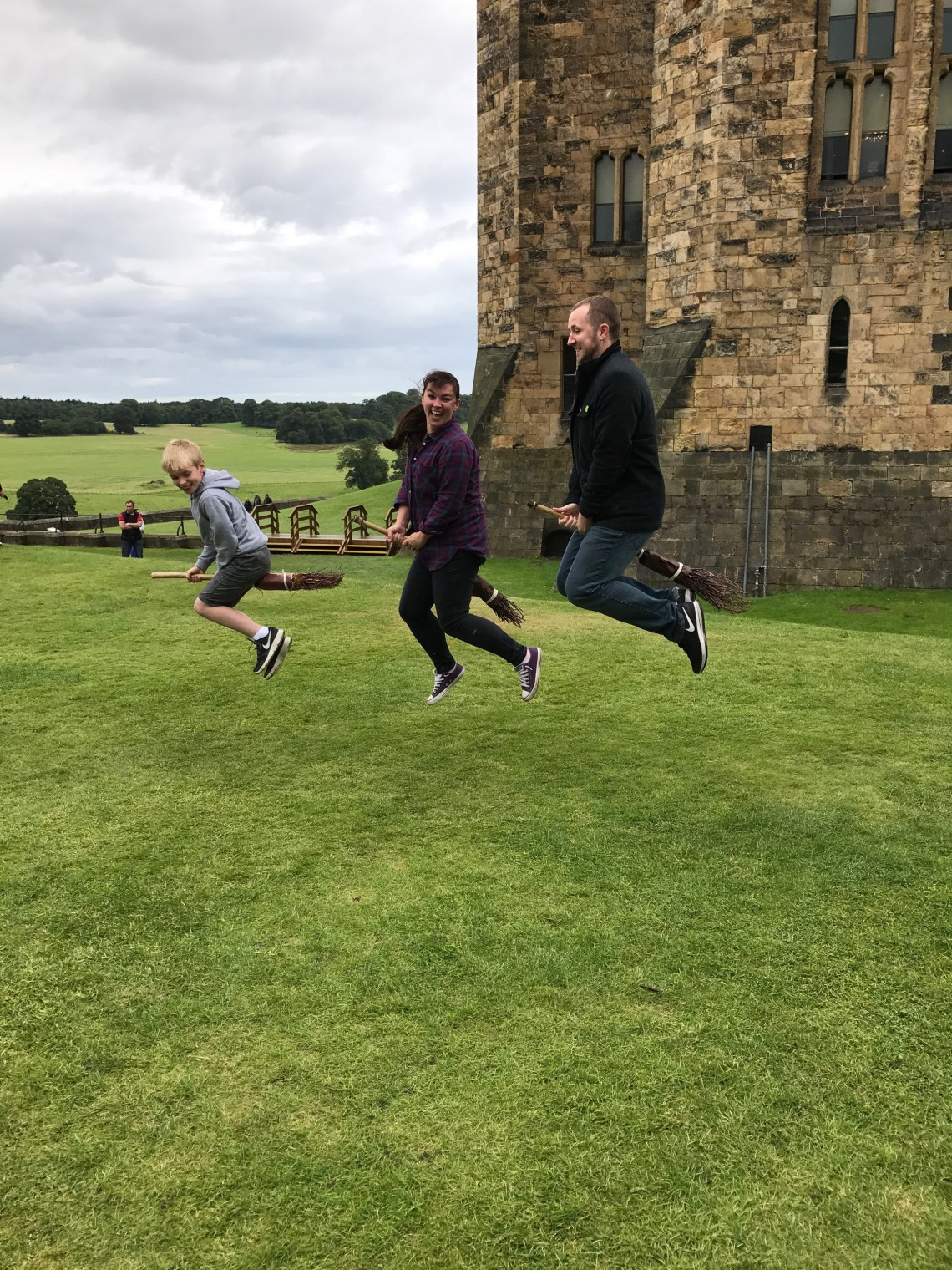 Alnwick Castle Flying Broomsticks