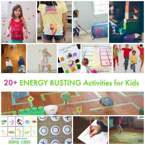 20 Energy Busting Activities for Kids