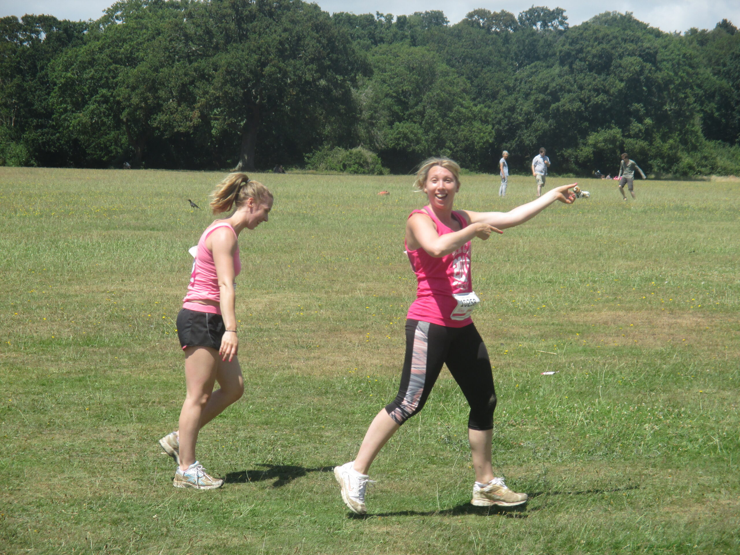 running in race for life