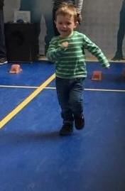 Jake running