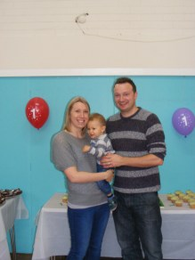 me, rob and Jake at his birthday party