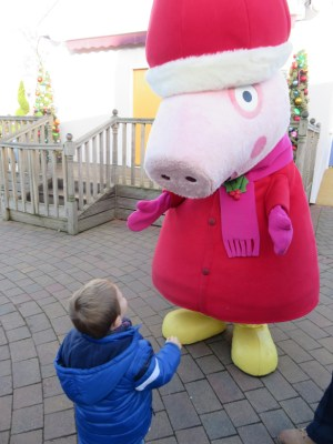 Jake meeting peppa