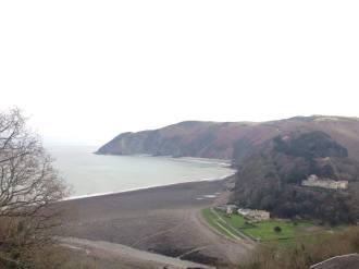 view across the sea