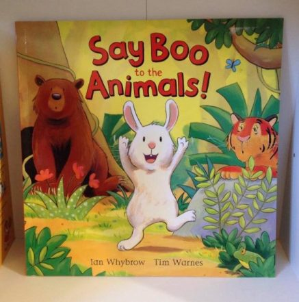 say boo to the animals book
