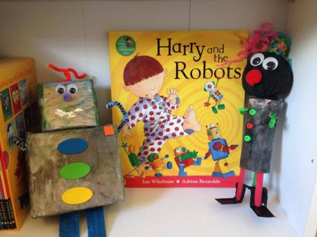 harry and the robots book