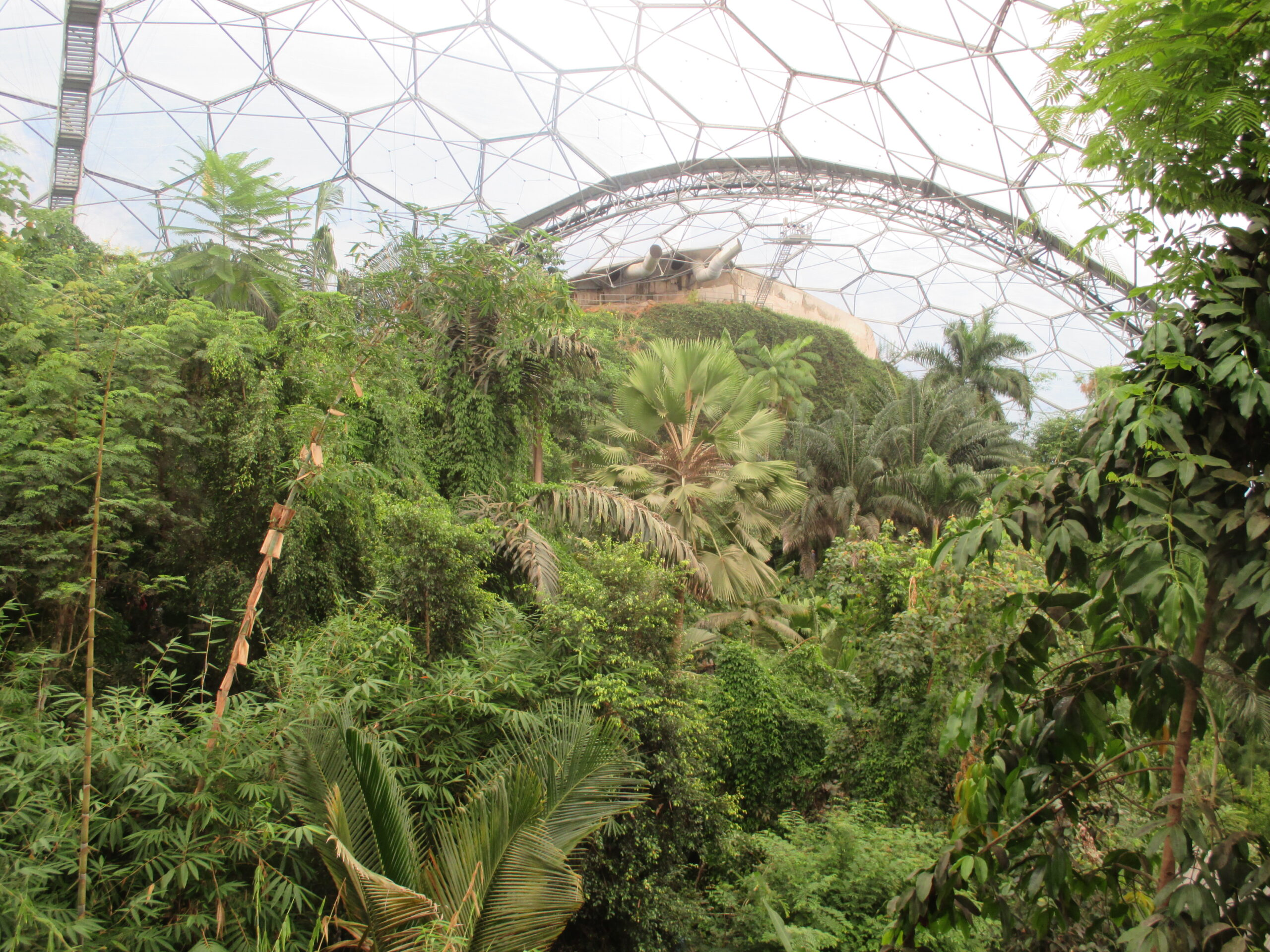 biome at the eden project