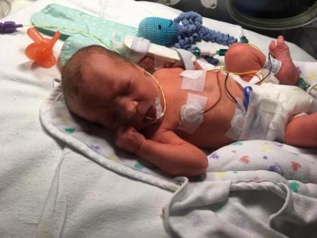 birth story- baby