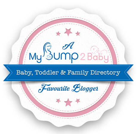 my bump to baby favourite blogger logo