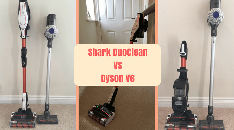 Shark DuoClean Vacuum Review vs Dyson V6