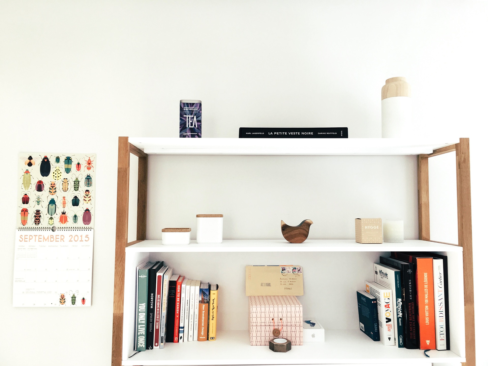storage for the home including shelving