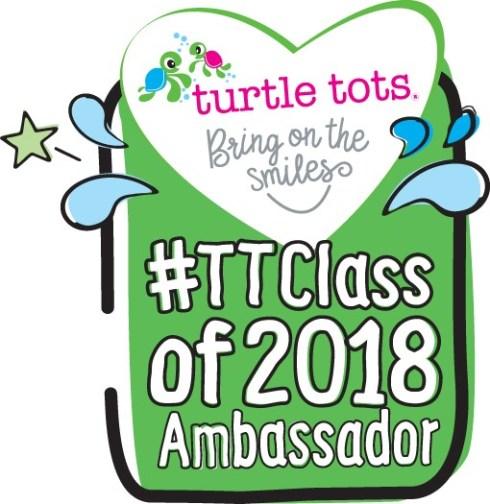 Turtle Tots ambassador badge