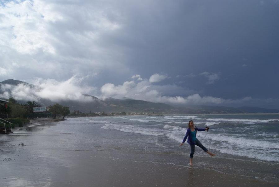 me in the choppy sea
