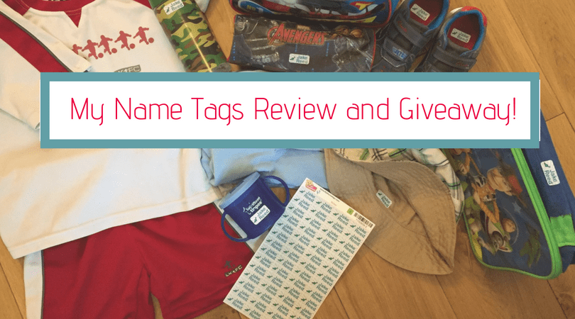 My name tags review and giveaway