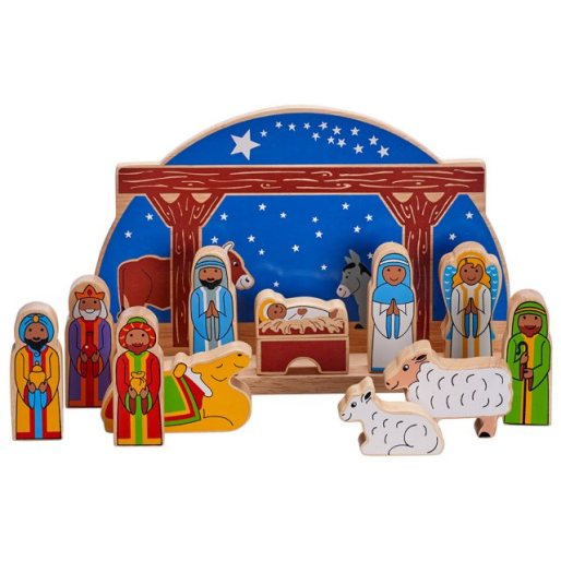 nativity set a lovely sustainable christmas gift