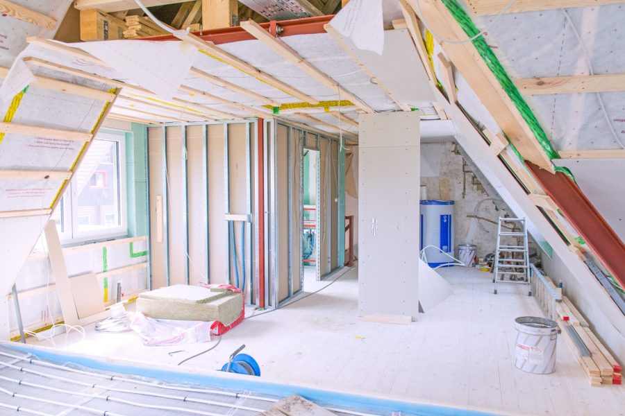 loft conversion in process
