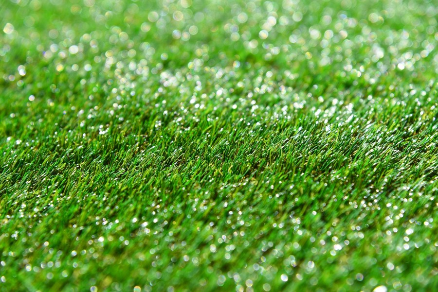 artificial grass close up