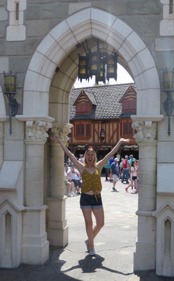 me enjoying Disney!!