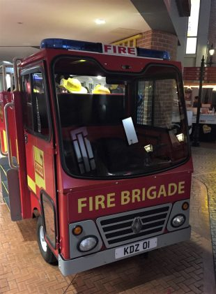 fire engine from the front