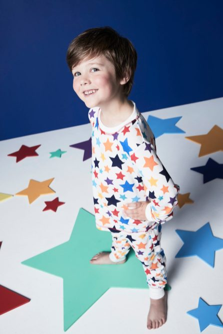 Daniel in pjs for matalan