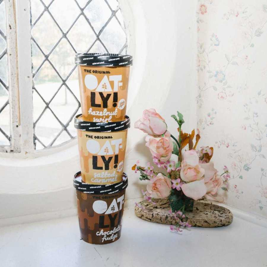 oatly vegan icecream
